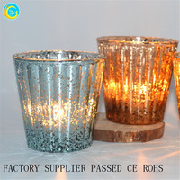 Popular Buying Requests for glass jar Diamond Motif metallic Finish off the look with silver ribbed glass tea light holders