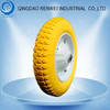 13 inch Solid Rubber Wheel for Wheelbarrow with Steel Rim/13 inch Pu Foam Wheel & Flat Free Tire