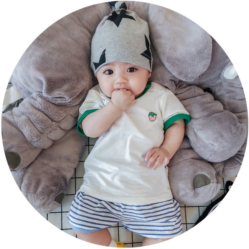2018 newest design baby clothing set high quality soft cotton T shirt