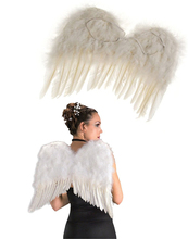 Touch of Nature swan wings feather for decoration
