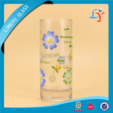 drinking glass manufacturers china imprinting standard size of drinking glass 10oz shaped drinking glass for tumbler