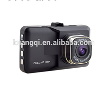 Professional car dvr camera with gps-protect 802 double camera hd dvr car recorder dvr with CE certificate