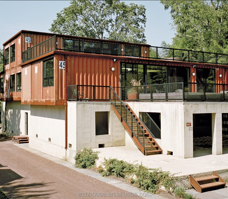 Cheap Flexible Prefab Residential Container House