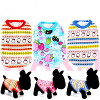 Wholesale Winter warm Dog Vest Fleece Pet wag a tude dog clothes