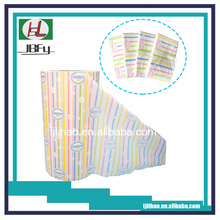 Sanitary napkin 8 color print pe film