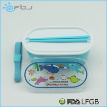 BPA free kids adults mini cartoon plastic storage box . * / ~