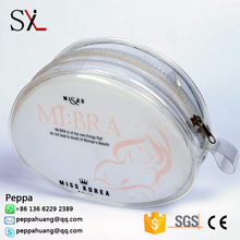 High Quality Clear Vinyl PVC Plastic Military Travel Toiletry/Cosmetic Zipper Bag