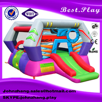 Outdoor giant inflatable amusement park children playground equipment inflatable fun city for sale