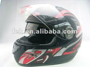 2016 New Design Unique Safety Motorcycle Full Face Helmet