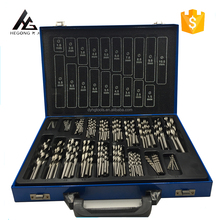 HG TOOLS 170PCS HSS DIN338 Fully Ground Twist Drill Bits Set from 1mm to 10mm