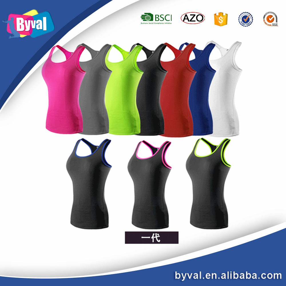 New design best price gym tank top women plain wholesale blank sport tank top for women