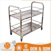 Top10 Best Selling Custom Stainless Steel Wine Cart Trolley Wheels