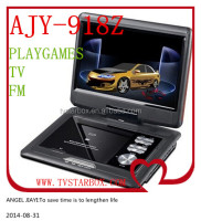 portable dvd player with digital tv tuner 15.6inch led screen 3d portable dvd player