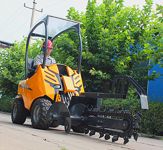 China HY200 articulated mini wheel loader price