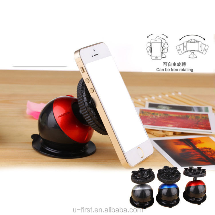 New arrival 360 Degree Rotated Universal Car Sucker Mount Holder Stand for mobile phone