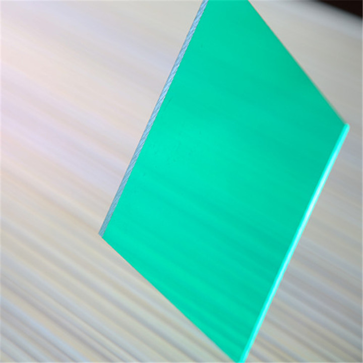 100% makrolon bayer resin Greenhouse Founctional Polycarbonate plastic roof sheet for sale