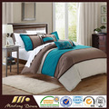 7 PCS 1.5-2.0m Plain Cotton Bedding Set Four Seasons Home Textile