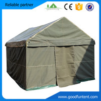 Hot sale high quality waterproof military wood frame tent for sale