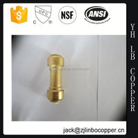 brass compression fittings tube union, top quality metal bellow coupling