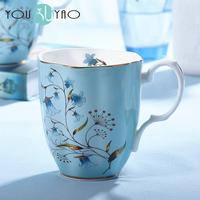 English style Bone china ceramic tea cup, mug , milk cup