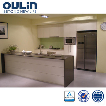 2014 Modern Modular Kitchen Cabinet Door Design For Project Sale