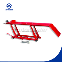 1000lbs Pneumatic Manual Motorcycle Lift with CE