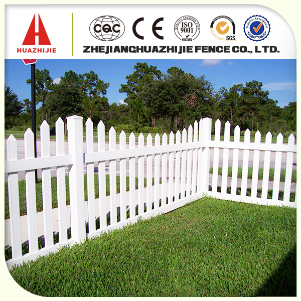 small pvc garden fence for home