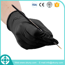 New product disposable medical black nitrile working gloves made in malaysia