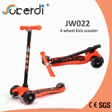 CE SGS certificated aluminum 4 wheel scooter mi-duo scooter