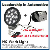 China Manufacturer Auto Parts High Power 18000LM 120W LED Work light, 9.7inch 120w LED Driving Light for 4X4 Accessories
