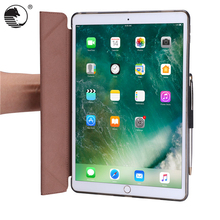 TPU PC flip case smart slim design Leather Tablet PU Cases for iPad Pro 10.5