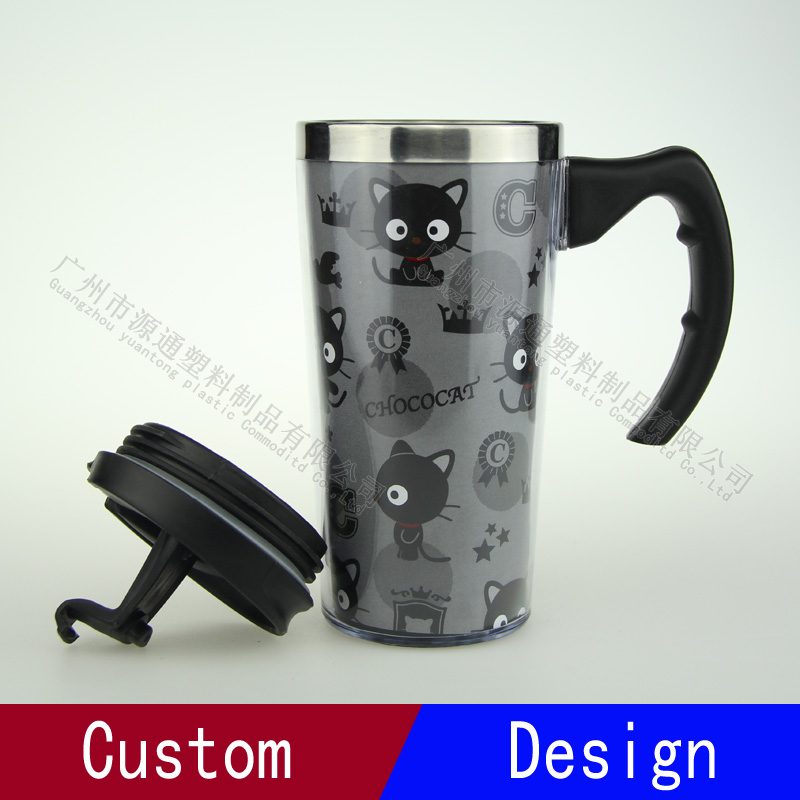 Lovely Black Cat Vacuum Flask/Stainless Steel Cup/mug