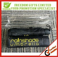 Promotional High Quality Fold Umbrella with Case
