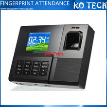 KO-C030 Fingerprint time attendance finger print time card calculator