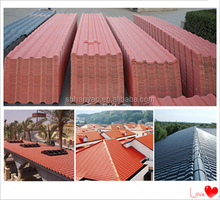 prepaint natural stone coated pvc roof sheet