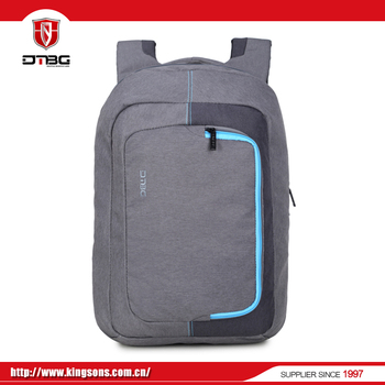 Factory direct male black bag new design school backpack