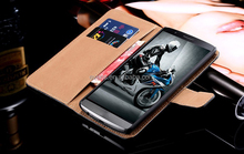 Wholesale Cell Phone Cover Flip Wallet Cases for LG NEXUS 5 with Card Holder Magnetic Stand