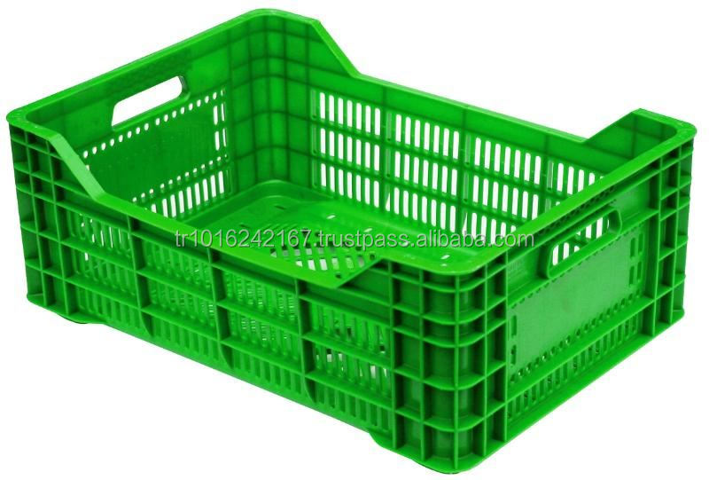 High Quality Plastic Transfer Basket/Crate, Case, Box, Strongebox