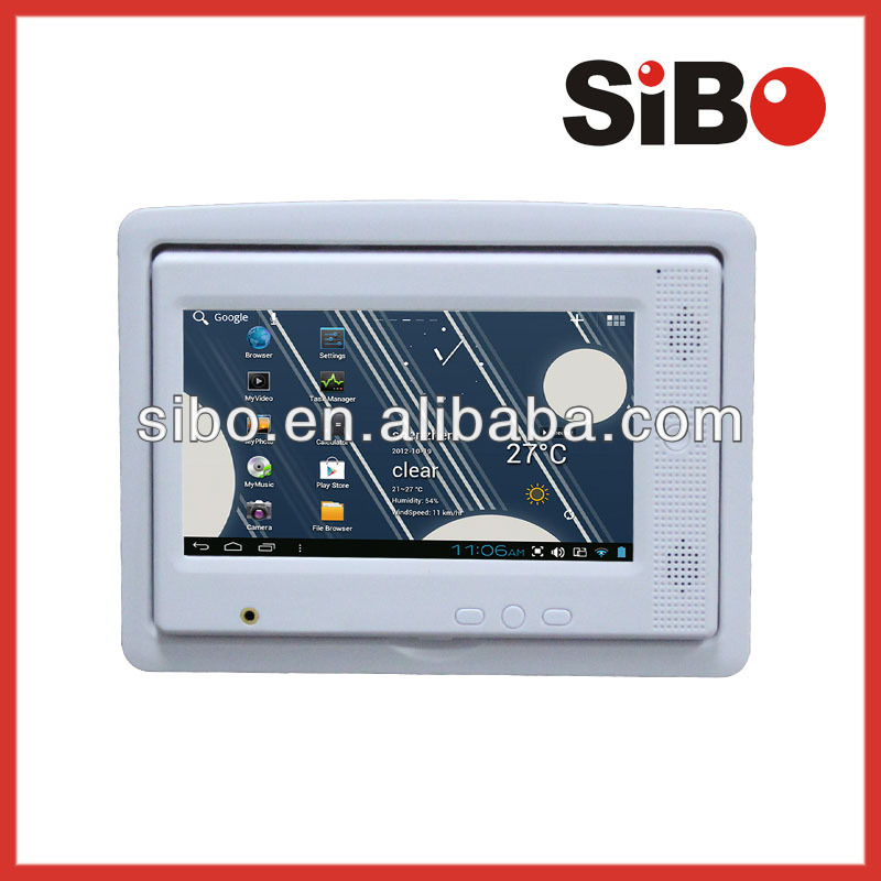 Home use In Wall Android Touch Screen Android With WiFi,Ethernet, POE