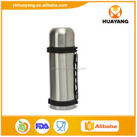 Stainless Steel Vacuum Travel Pots thermos flask with Wide Mouth Design