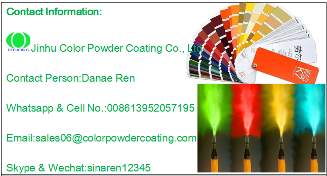 Ral7032 RAL7035 beige color texture finish powder coating thermosetting
