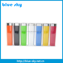 Hot selling portable power bank 2600mah, perfume power bank, mini power bank