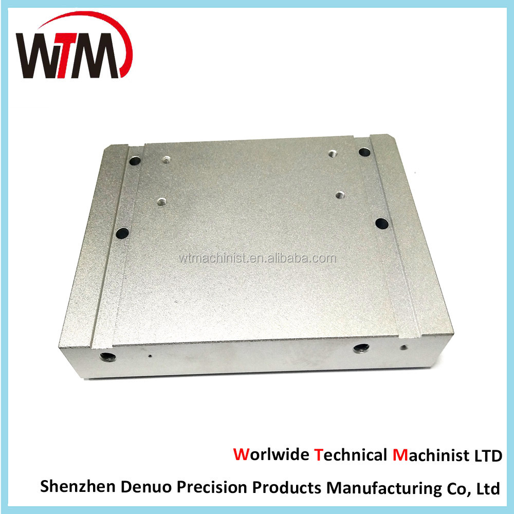 Clear Anodized High Quality CNC Machining Aluminum HD Audio Front Panel