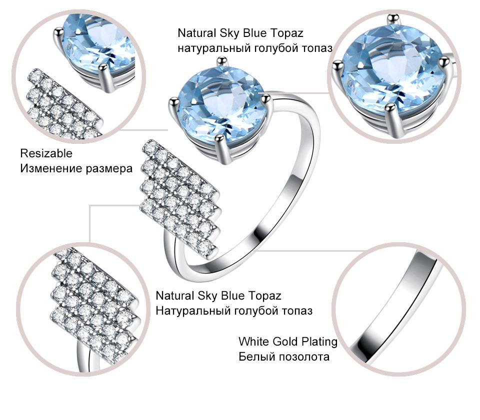 silver blue topaz ring for women (6)