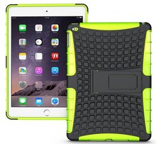 factory direct prices wholesale !! hybird kickstand case for apple ipad air2