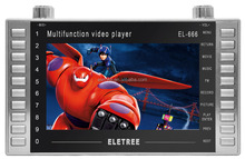 China manufacture free portable player 7 inch with cheap price for mp4 joc video player