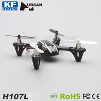 Toy 3.7v rc helicopter battery hubsan x4 v2 h107l 2.4g 4ch quadcopter with lights