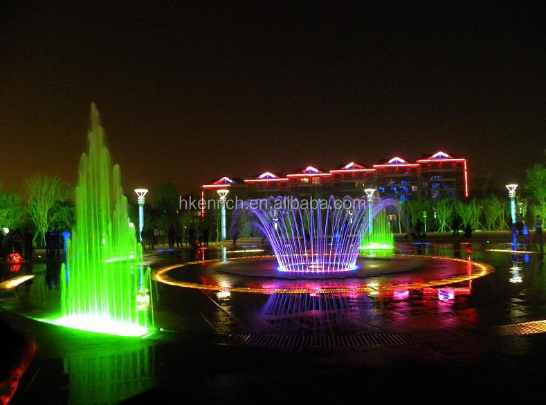 DMX RGB led fountain waterproof light with high brightness