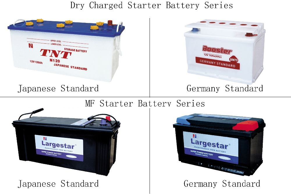 Japan Standard 12V70Ah Dry Cell Lead acid automotive car battery