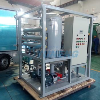 Multi-Function Vacuum Transformer Oil Purification System